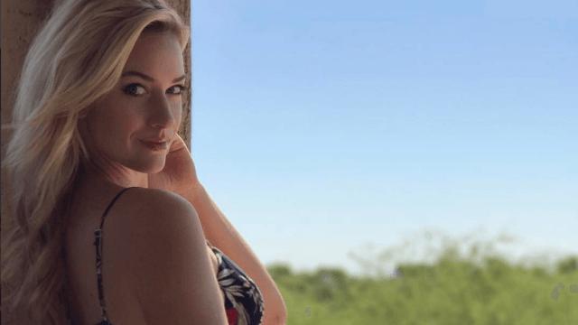 Publican fotos íntimas de la golfista Paige Spiranac en sitio de Internet