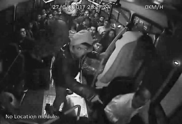 Asalto en autobús de pasajeros en el centro de Toluca es grabado en video