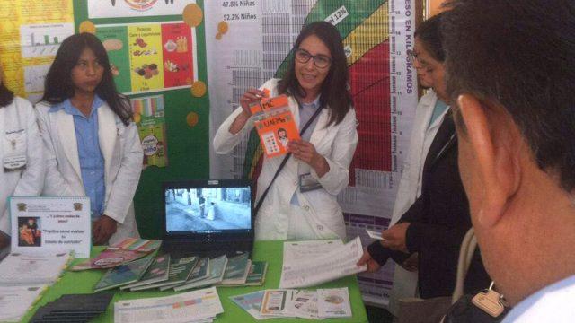 Universitarios contribuyen a generar hábitos alimenticios saludables