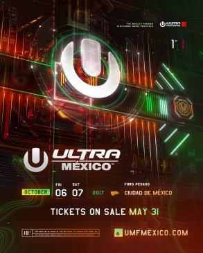 Anuncia conciertos en México de Ultra Music Festival