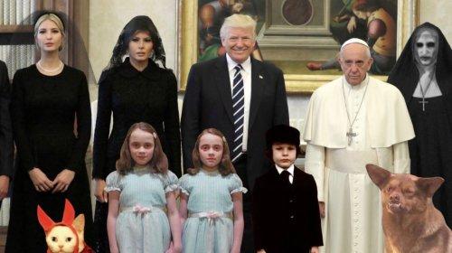 Los mejores memes tras la visita de Trump y su familia al Papa Francisco desata memes (+fotos)