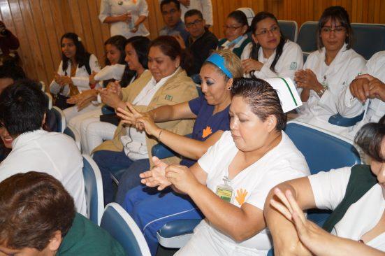 IMSS Estado de México poniente conmemora día mundial de higiene de manos