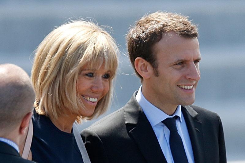 Reapareció Silvio Berlusconi y habló de la mujer de Emmanuel Macron