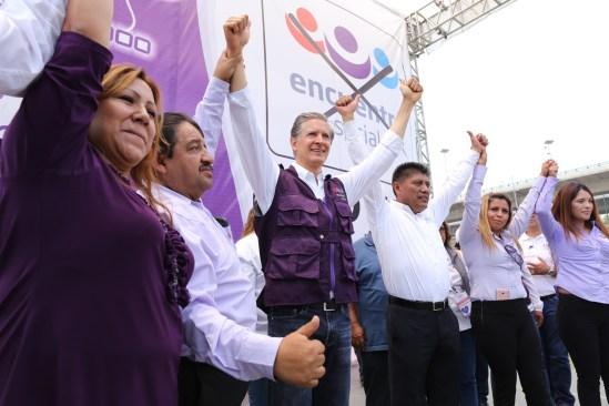 Haré del Estado de México un lugar seguro para todas las familias: Alfredo Del Mazo