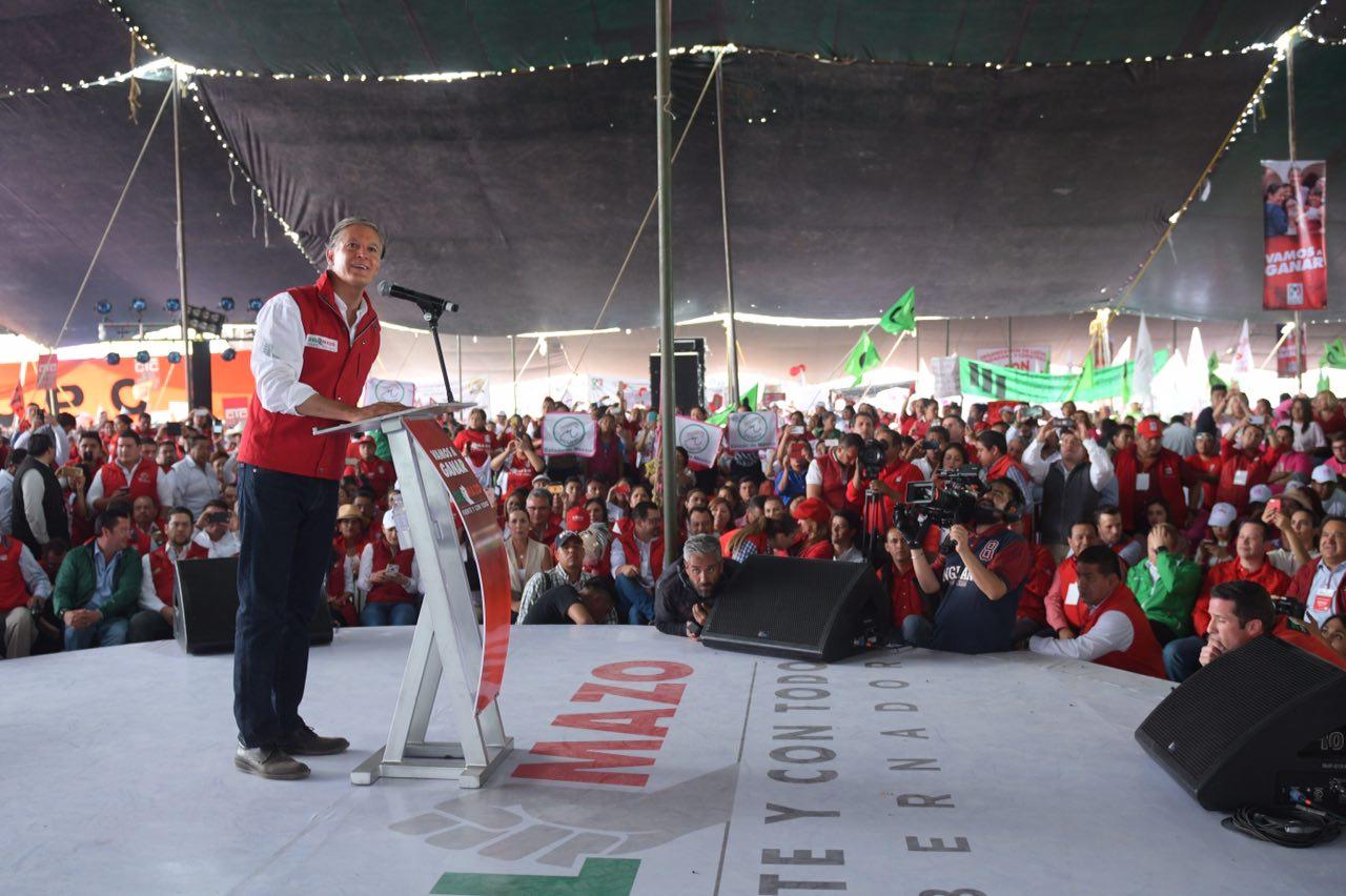 PRI a favor de una democracia constructiva: Ochoa Reza