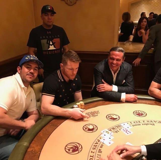Captan a Luis Miguel en Las Vegas junto al