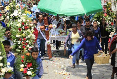 Veníamos de festejo de Día del Niño: padre de bebé asesinado en Puebla