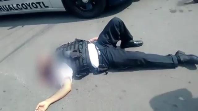 Mueren cuatro policías y un civil en intento de asalto en oficinas del PRI