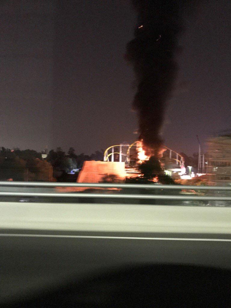 Se incendia Saldo la Feria de Chapultepec; saldo blanco