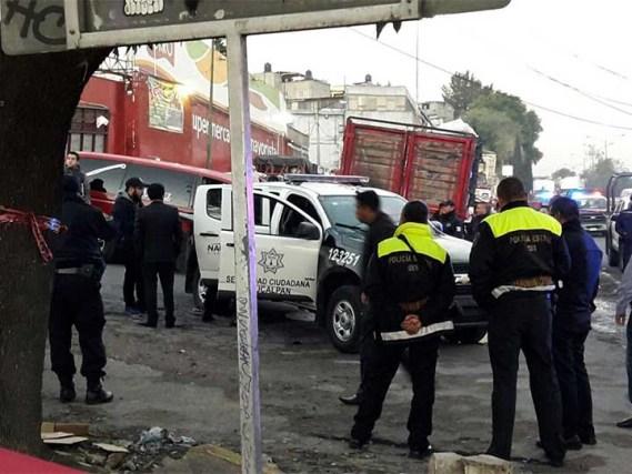 Asesinan a tres policías en Naucalpan