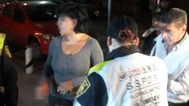 Dijo ser diputada y mordió a policía para no ser llevada a Torito