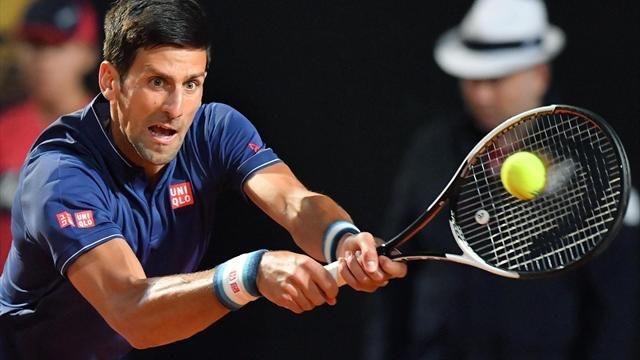Final del Masters de Roma: Novak Djokovic y Alexander Zverev