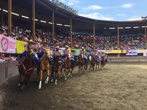 Feria de Escaramuzas en la Villa Charra de Toluca