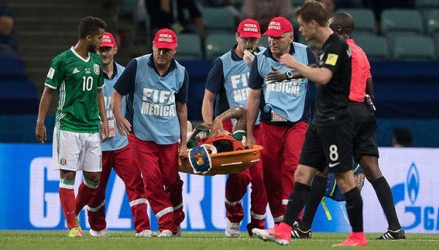 Carlos Salcedo, baja del Tri en Copa Confederaciones
