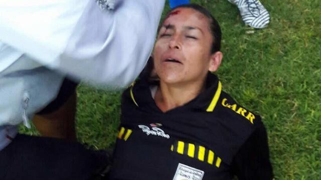 Árbitro Amateur agredida en México
