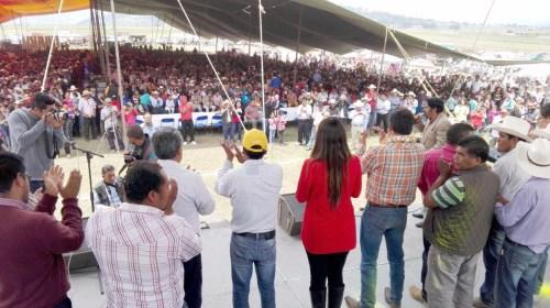 Evento de agradecimiento en San José del Rincón