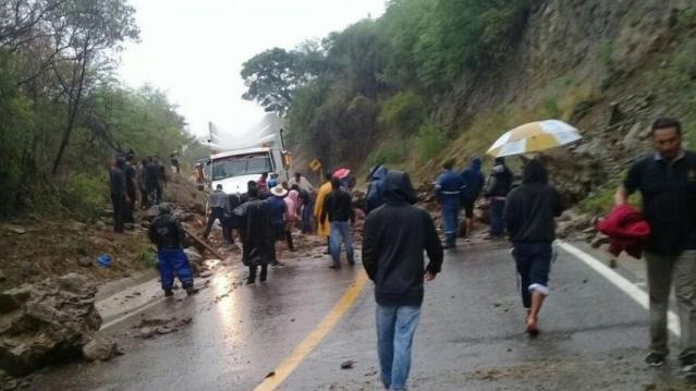 Tormenta Beatriz, causa daños en Oaxaca