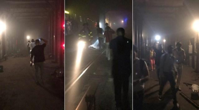 Tren por falla eléctrica descarrila en Nueva York