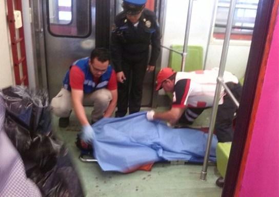 Muere de un golpe tras asomarse por la ventanilla del Metro