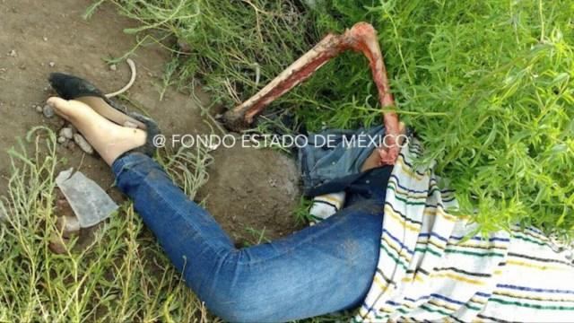 FEMINICIDIO: Arrancan pierna y rostro a joven en Edomex