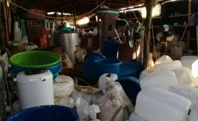 4 laboratorios clandestinos en zona operada por cártel de Sinaloa