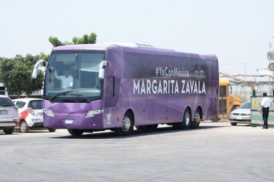 Asaltan en Sinaloa a equipo de Margarita Zavala