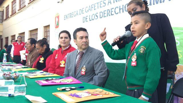 Niños Defensores de Derechos Humanos construyen un mejor futuro en Toluca