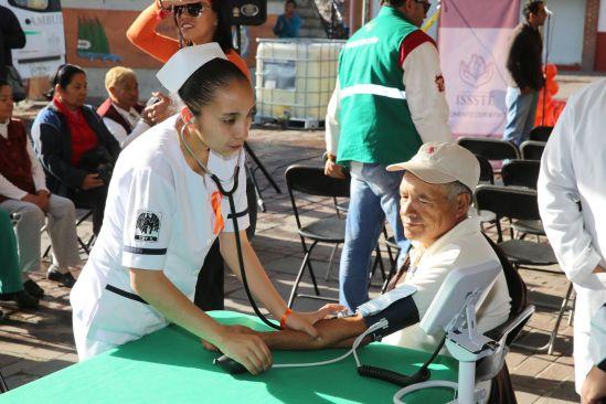 Gobierno de Metepec lleva servicios de salud a las comunidades