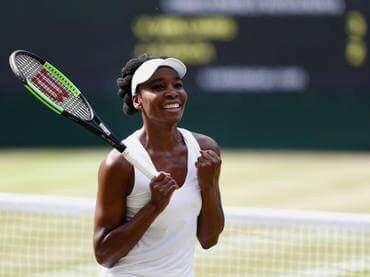 Venus Williams llega a la final de Wimbledon