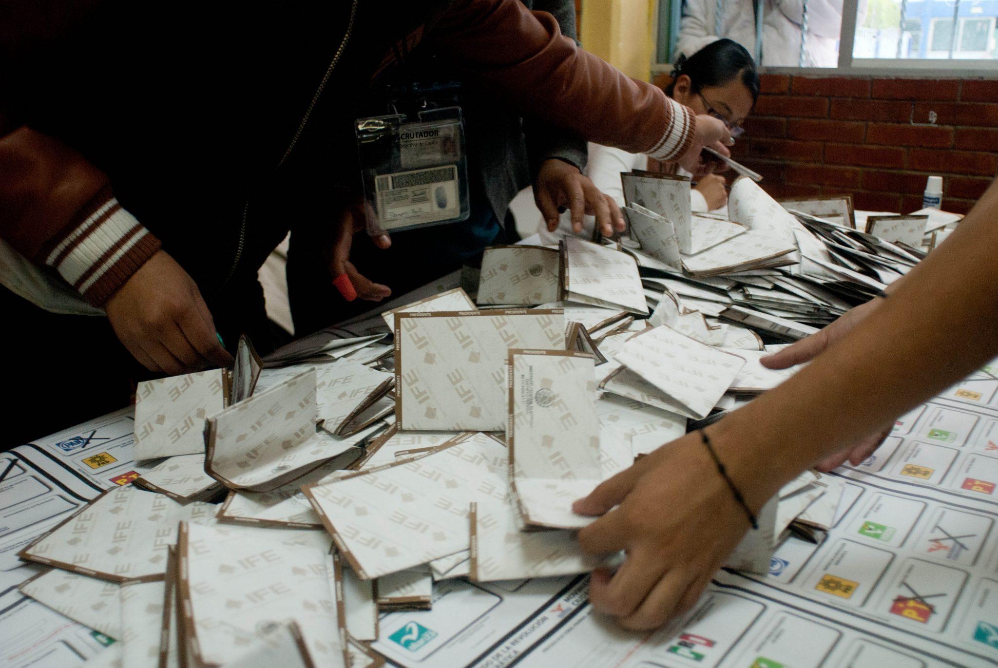 TEPJF ordena recuento de votos en 556 casillas del Edomex