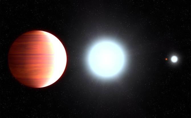 """Telescopio descubre exoplaneta que """"nieva"""" protector solar"""
