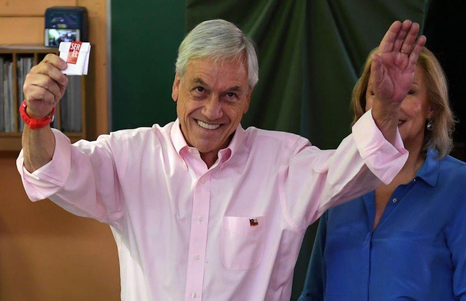 Sebastián Piñera es el nuevo presidente de Chile