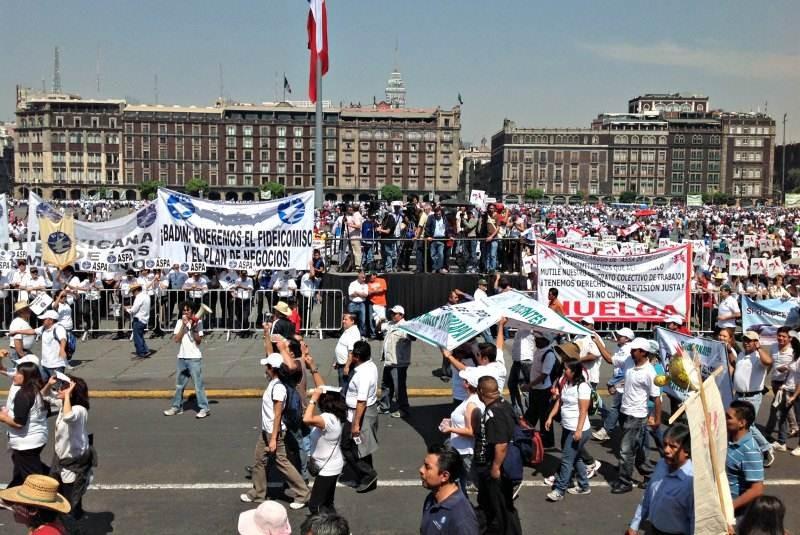CDMX tendrá tránsito complicado por dos marchas