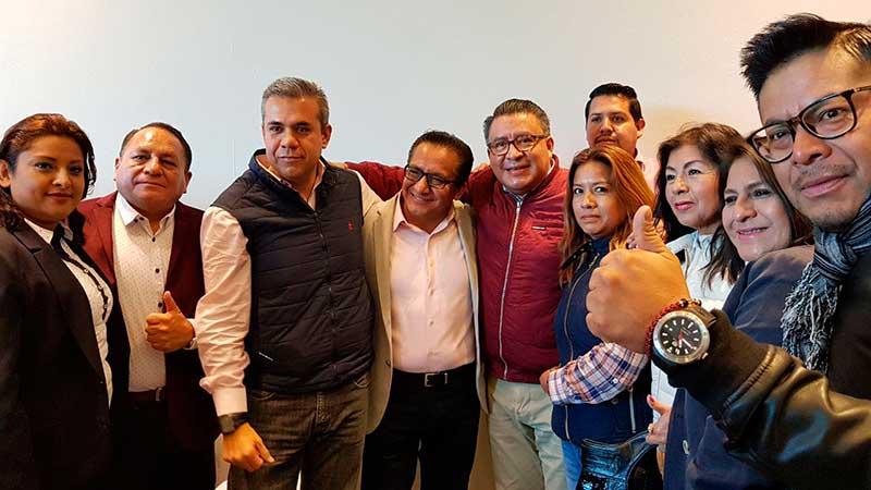 Osmar León y 21 mil ecatepenses migran del PRD a Morena