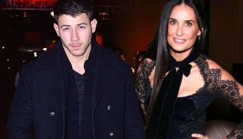 Demi Moore de 55 años y su romance Nick Jonas de 25