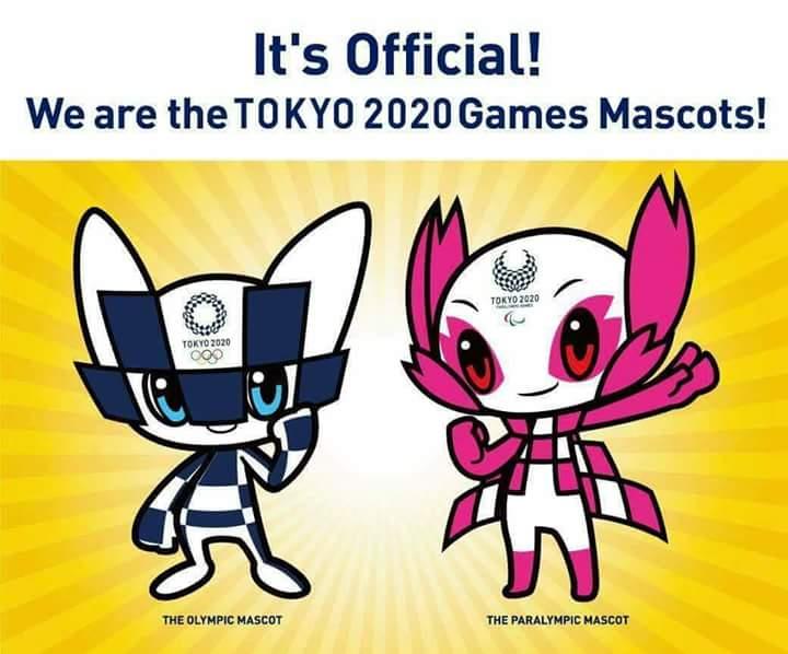 Develan las mascotas de los Juegos Olímpicos Tokio 2020