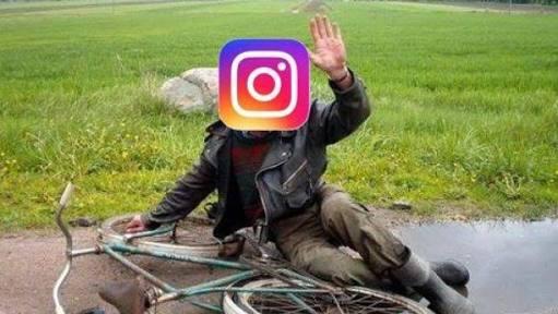 Instagram se cae