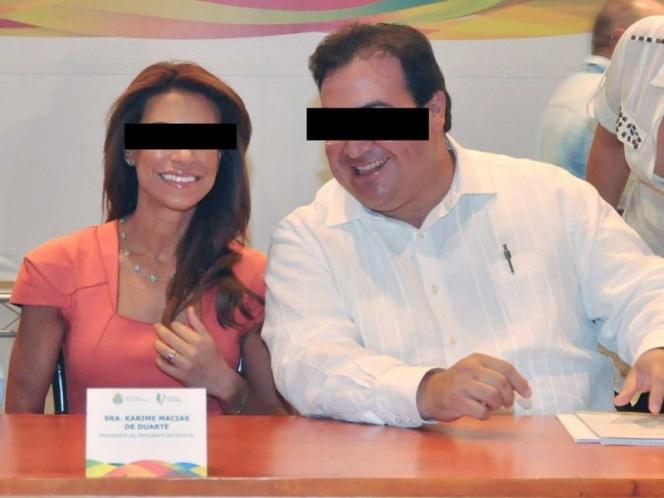 Giran orden de aprehensión contra Karime Macías, esposa de Javier Duarte