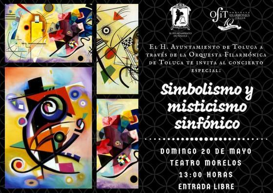 """Concierto """"Simbolismo y Misticismo Sinfónico"""" en Toluca"""