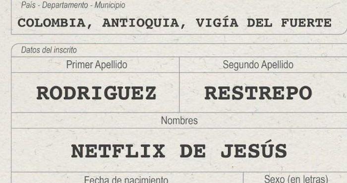 Netflix, Google, Apple y Mazda se convierten en nombres de personas