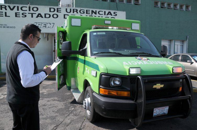 Verifica COPRISEM ambulancias del sector público y privado