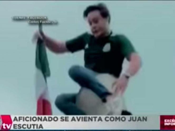 Aficionado mexicano se avienta en Rusia como Juan Escutia