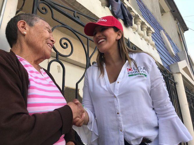 Olga Esquivel gestionará créditos para amas de casa emprendedoras