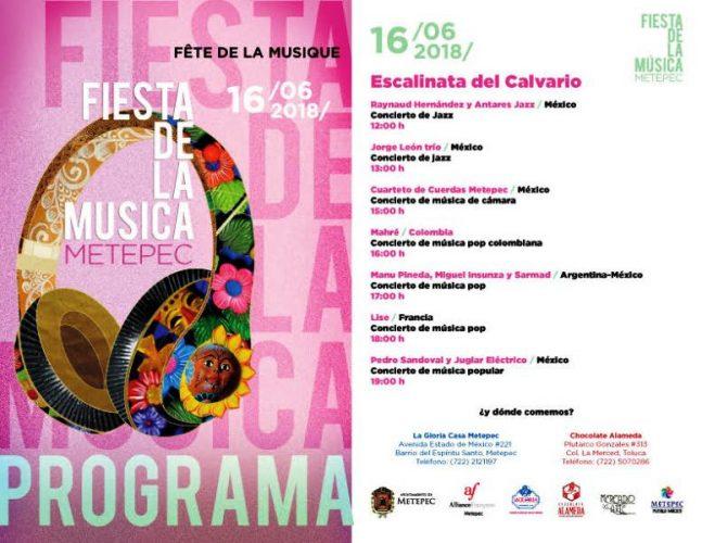 Invita Metepec a segunda edición de la fiesta de la música