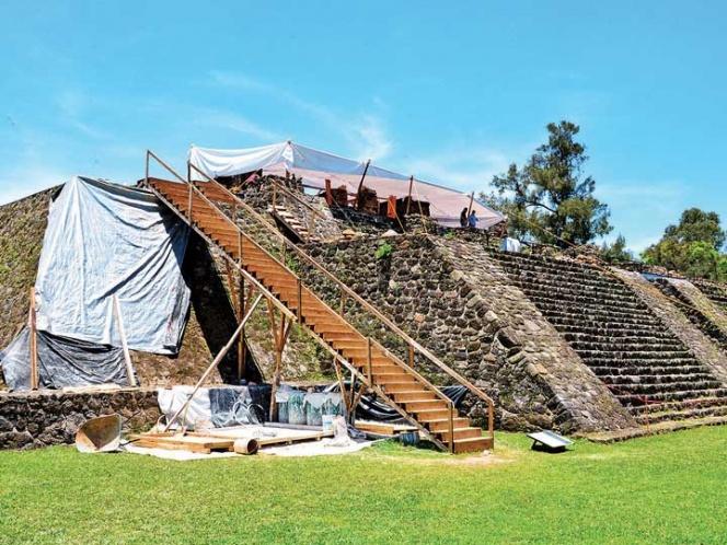 Sismo devela huellas prehispánicas en Teopanzolco