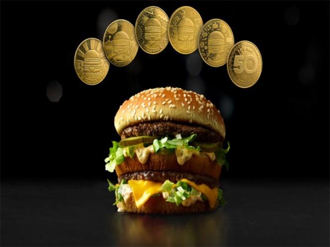 Lanza McDonalds su propia moneda