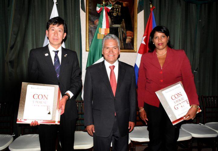 Firman Memorándum de Entendimiento y Cooperación Toluca y Santiago de Cuba