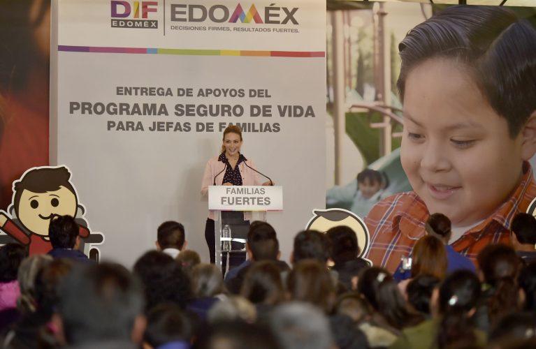 Otorgan DIFEM y SEDESOL apoyos a familias mexiquenses con orfandad materna