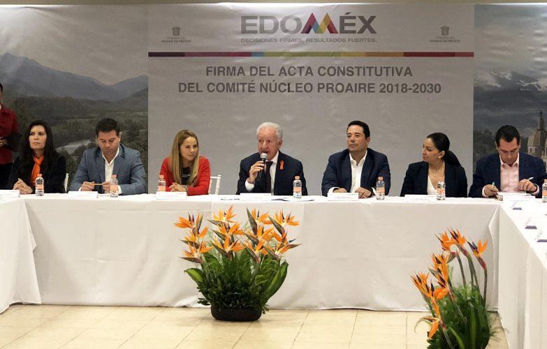 Secretaría del Medio Ambiente conforma el Comité PROAIRE 2018-2030