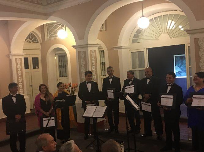 Celebra su XVII aniversario el Octeto Vocal de la Secretaría de Cultura